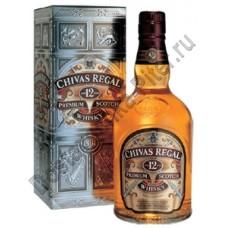 Виски Чивас Ригал 12 лет 40% 1л п/у