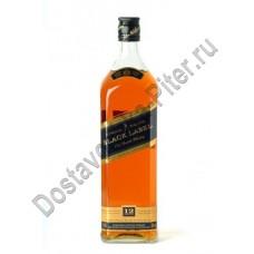 Виски Джонни Уокер черн/этик 43% 1л