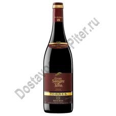 Вино Торрес Гран Сангре де Торро кр. 14% 0,75л