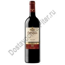Вино Торрес Коронас кр. сухое 14% 0,75л