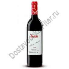 Вино Рибера дель Дуэро Протос Робле кр. сух. 13,5% 0,75л