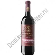 Вино Маркиз дель Турия Валенсия Бобал-Сира кр. сух. 12,5% 0,75л