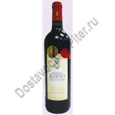 Вино Кото дю Лангедок Шато де Бланкус кр. сух. 14% 0,75л