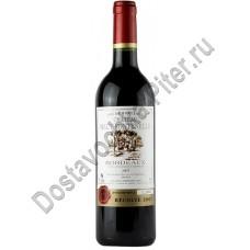 Вино Шато О`Фонтенель кр. сух 13% 0,75л