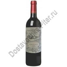 Вино Шато Пьер Планте красное сухое 12,5% 0,75 л