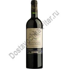 Вино Шато ля Монжи кр.сух 0,75л 12%