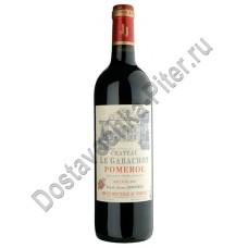 Вино Шато ле Габашо Помероль АОС 2006 кр.0,75л 13%