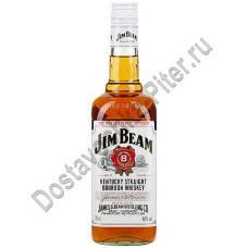 Виски бурбон Джим Бим белый 40% 0,7л