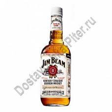 Виски бурбон Джим Бим белый 40% 0,5л