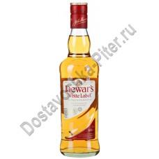 Виски Дюарс бел.этикетка 40% 0,75л