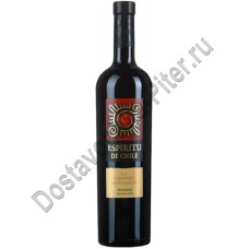 Вино Еспириту де Чили Каберне Совиньон красное п/сладкое 12% 0,75л