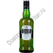 Виски Вильям Лоусонс 40% 0,75л