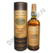 Виски Гленморанжи 10лет 40% 0,7л п/туба