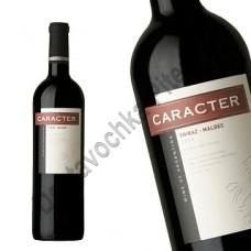 Вино Карактер Шираз-Мальбек (Caracter Shiraz-Malbec) красное сухое 13% 0,75л