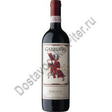 Вино Габиано Кьянти кр. сух. Италия 13% 0,75л