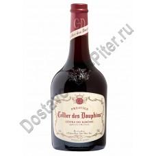 Вино Кот Дю Рон Селье де Дофен Престиж кр. сухое 13,5% 0,75л