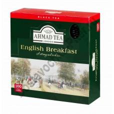 Чай черный Ahmad Английский завтрак 100 пак