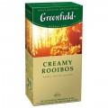 Напиток чайный GREENFIELD Creamy Rooibos ваниль 25 пак