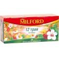 Чай травяной MILFORD 12 трав 20 пак