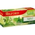 Чай MILFORD зеленый Мята перечная 20 пак