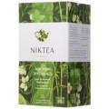 Чай NIKTEA зеленый Jasmine Emerald c цветками жасмина 25 пак