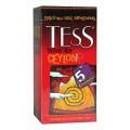 Чай TESS Ceylon черный 25 пак