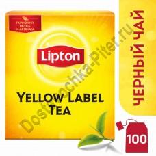 Чай черный Lipton Yellow label tea 100пак