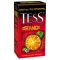 Чай TESS Orange черный с цедрой апельсина 25 пакетиков