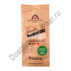 Кофе Bushido Delicato на дровах зерно 250г