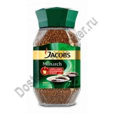 Кофе Jacobs Monarch растворимый 95г ст/б