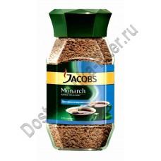 Кофе Jacobs Monarch Decaff растворимый 95г ст/б