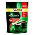 Кофе Jacobs Monarch натуральный растворимый сублим 240г пак