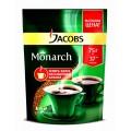 Кофе Jacobs Monarch растворимый 75г пак