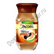 Кофе Jacobs Velour растворимый 95г ст/б