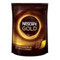 Кофе Nescafe Gold растворимый 130г пак