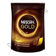 Кофе Nescafe Gold растворимый 150г пак
