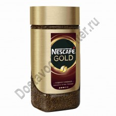 Кофе Нескафе Голд растворимый ст/б 95г