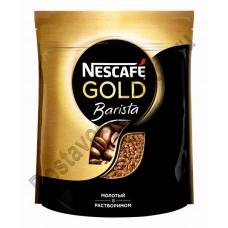 Кофе Nescafe Gold Barista style молотый в растворимом 190г пак