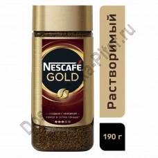 Кофе Nescafe Gold 190г ст/б