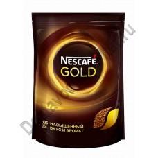 Кофе Nescafe Gold растворимый 220г пак