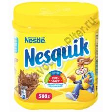 Напиток шоколадный Nesquik быстрорастворимый 500г кор