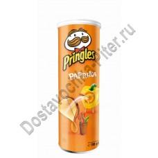 Чипсы Pringles Паприка 165г