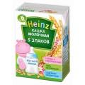 Каша молочная Heinz многозерновая 6мес 200г т/п