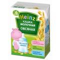 Каша овсяная молочная Heinz с 6мес 200мл т/п