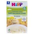 Каша без молока Hipp Био-Рисовый отвар с 4мес 200г