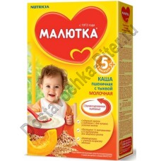 Каша Малютка молочная пшеничная с тыквой 220г