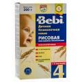 Каша рисовая без молока Bebi пребиотики с 4мес 200г