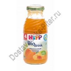 Нектар Hipp абрикос с 4мес 200мл ст/б