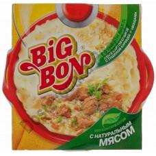 Готовый обед Big Bon пюре с тушеной курицей и овощами 105г