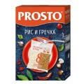 Крупа рис и гречка PROSTO 8х62,5г